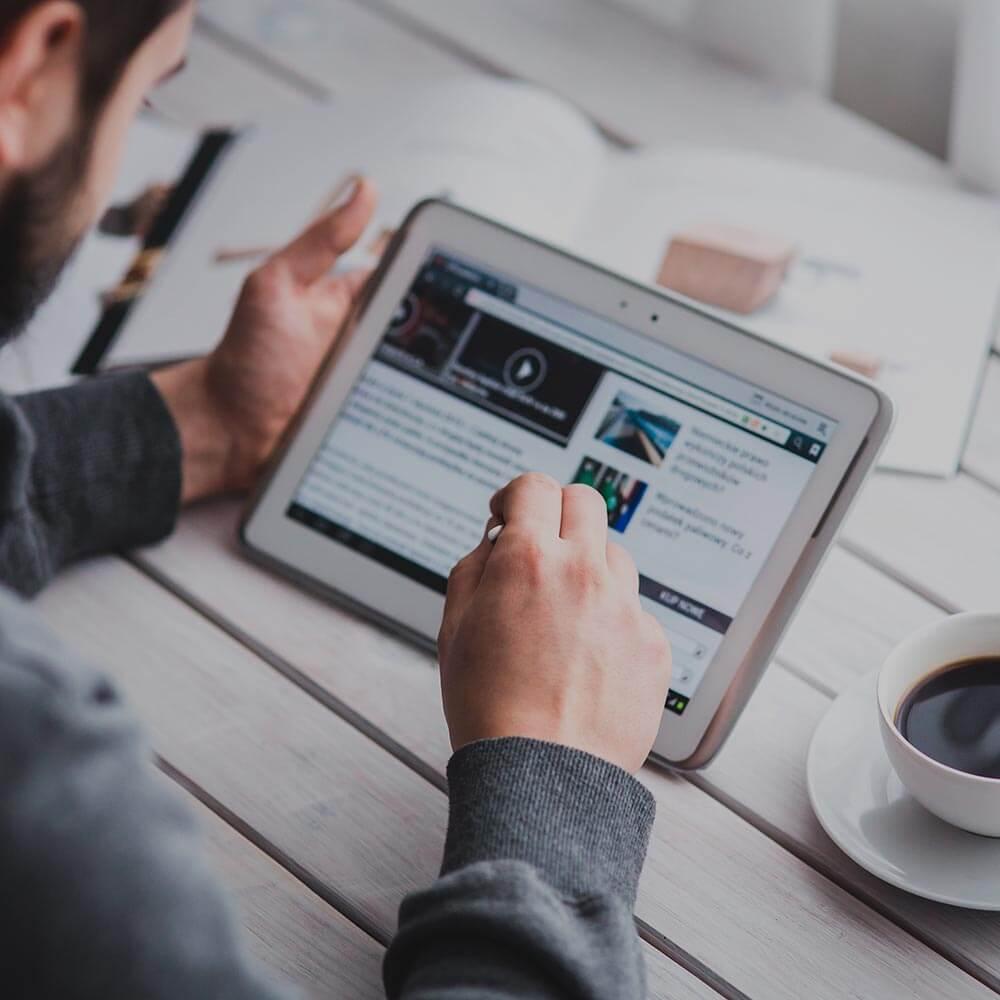 criação de blog e portal de notícias
