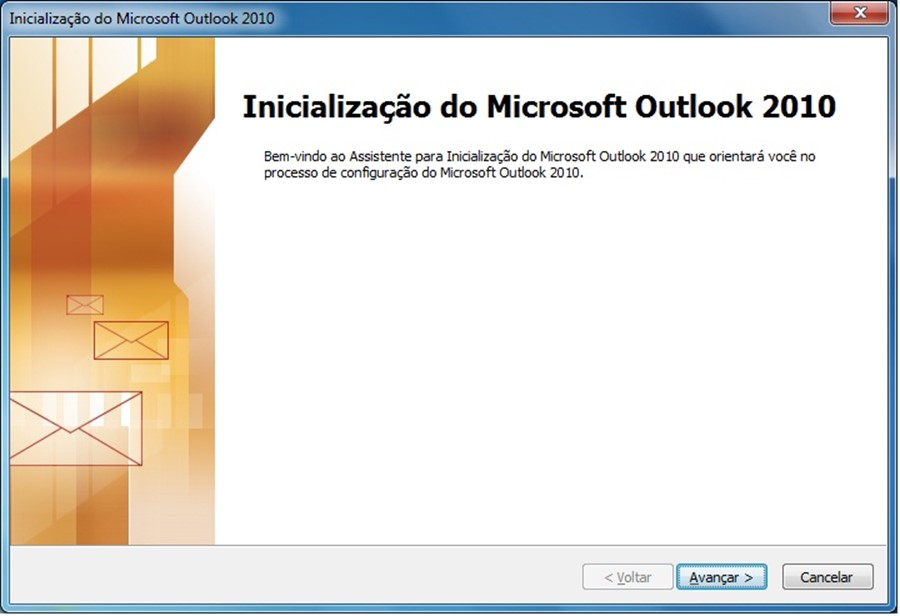 Adicionar conta outlook