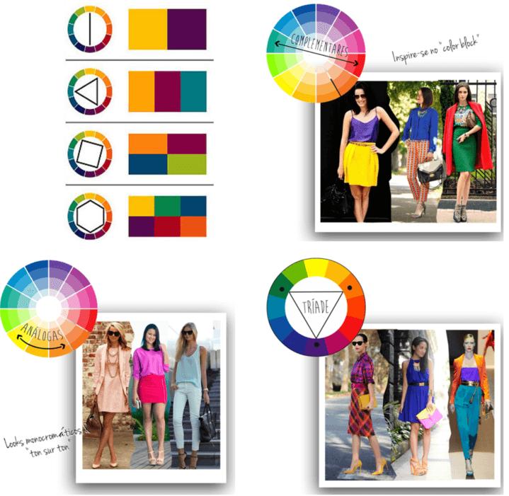 combinação de cores para dar significado