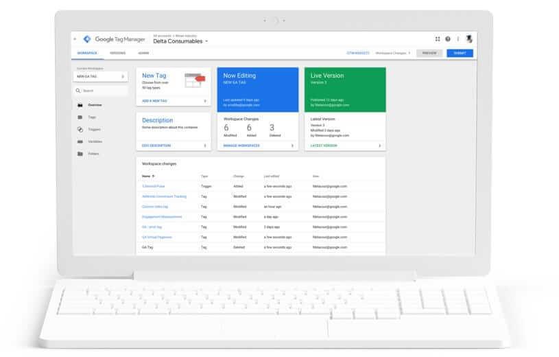 Como funciona o Google Tag Manager