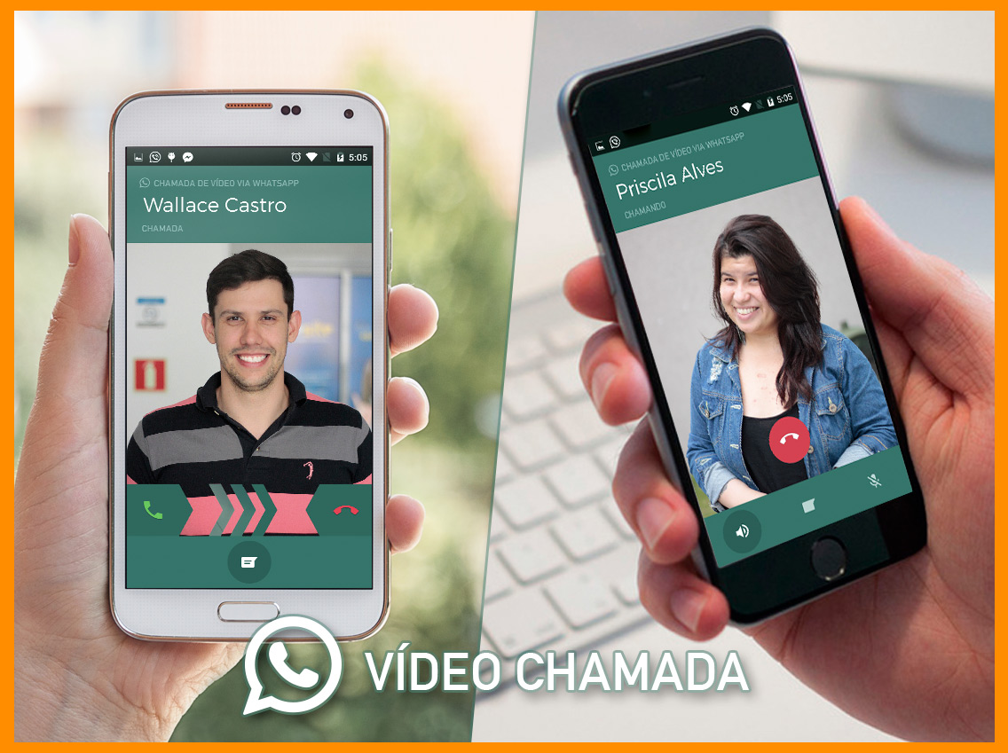Como fazer chamada de vídeo do WhatsApp, tudo evolui no mundo digital