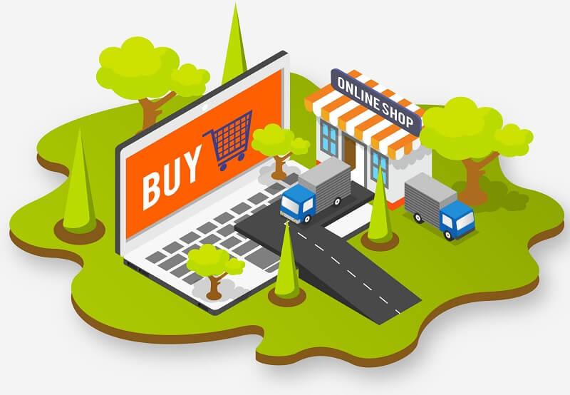 definição da plataforma da loja virtual
