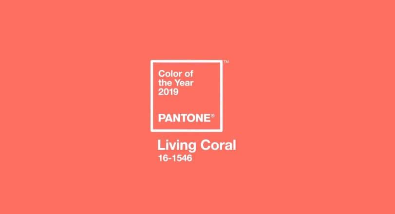 Tendências de web design para 2019 - a cor do ano