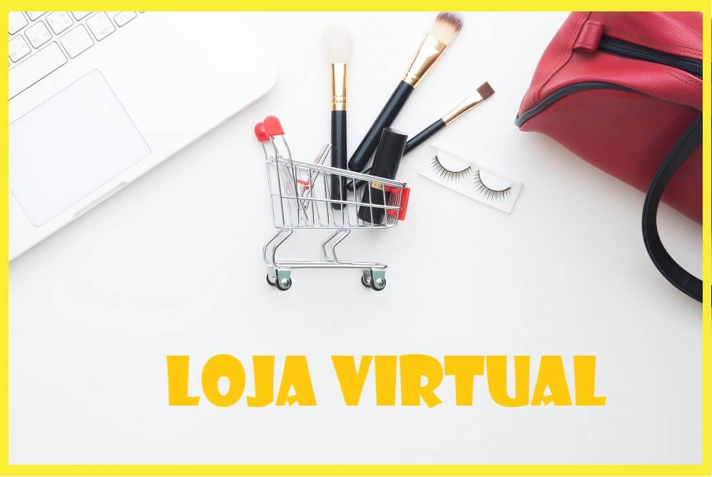 Loja virtual de maquiagem