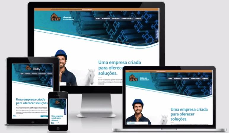 criar sites com design responsivo