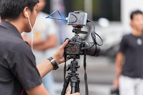 treinamento em vídeo - câmera