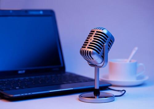 treinamento em vídeo - microfone