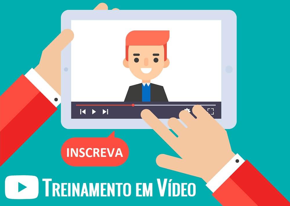 Treinamento em vídeo