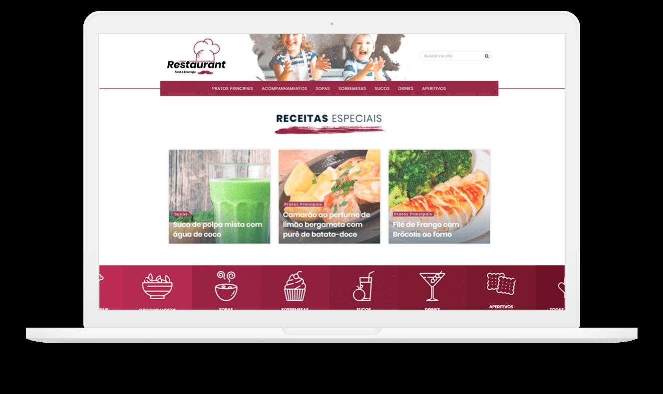 site de receitas